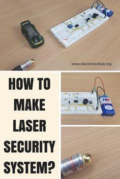 Make a LASER security system