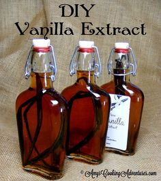 Amy's Cooking Adventures: DIY Vanilla Extract {12 Weeks of Christmas Treats}