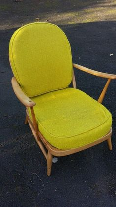 Vintage Ercol Studio Couch   Blonde With Linen Upholstery | Ercol Furniture  | Pinterest | Upholstery