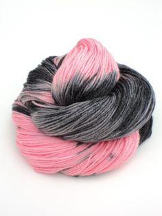 Hunny Bunny Hand Painted Sock Yarn 400 by sunriselodgefiberstu, $20.00