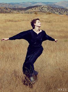 Anne Hathaway by Annie Leibovitz | For Vogue Magazine US | December 2012