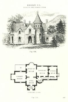 Norman style villa, no company or a The Plan, How To Plan, House Plans Mansion, House Floor Plans, Castle House Plans, Sims Building, Building A House, Castle Floor Plan, Small Castles