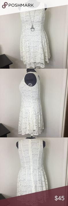 Brand New Lace Torrid sundress This stunning White lace sundress from Torrid in a size 20 is gorgeous!! Perfect length for any spring/summer outing or event. Taylored beautifully and fully lined. Brand new, never worn, with tags. torrid Dresses