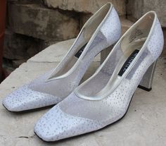 Silver Women's Shoes Size (US) No reserve - worn once only Online Garage Sale, Pumps, Heels, Women's Shoes, Velvet, Formal, Best Deals, Classic, Shopping