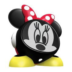 Disney's Minnie Mouse Bluetooth Rechargeable Speaker, Multicolor