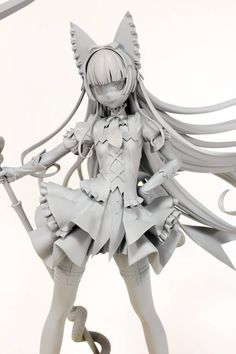 Gate: Jieitai Kanochi nite, Kaku Tatakaeri - Rory Mercury - Ques Q (? Clay Figures, Anime Figures, Anime Toys, 3d Drawings, Best Waifu, 3d Character, Character Design Inspiration, Manga, Art Reference