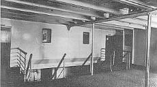 3rd Class:There were over 1000 third class passengers on the Titanic. Their accommodation was much more modest than the other two classes. The rooms comprised mainly of two to six berth rooms. There were only 84 two-berth cabins onboard.