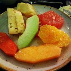 Desayuno en México #food #mexico #fruit