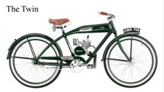 Part beach cruiser, part motorcycle, Ridley Vintage Motorbikes are small-engine powered bicycles featuring old-time looks and real-world utility. Each style is offered with either a 49 or 70cc engine, and also feature pedals for zero-emission propulsion, a tank-style frame made from either steel or aluminum, Shimano brake hubs, 24- or 26-inch tires, and more.