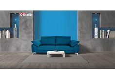 Cuando las líneas del sofá y el espacio siguen la misma dirección. Arriésgate y déjate llevar por formas geométricas.  #OKSofás  #home #interiorismo #interior #decoracion #inspiration #sofásproductonacional #diseñonacional  #highquality  #sillon #formasgeométricas