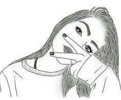 drawing of girls