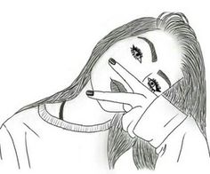 23 Best Drawing Of Girls Images Tumblr Girl Drawing How To Draw