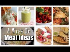 What I Ate Last Week - Meal Ideas - MissLizHeart