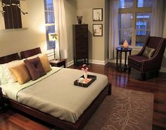 Apartment Bedroom Vintage Style Decorating Ideas ~ http://lanewstalk.com/lovely-small-apartment-bedroom-ideas/