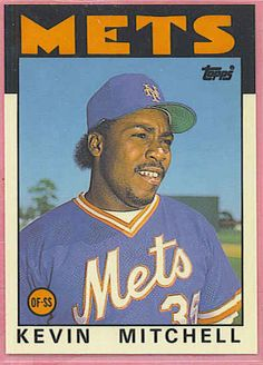 986 Topps Traded Tiffany Kevin Mitchell Giants XRC Rookie, All Star Outfielder. 1986 Topps Traded Tiffany Trading Card Came Straight From Limited Issue Boxed Set O 5,000. Mitchell lead Giants To World Series in 1989, and was league MVP  Kevin, Mitchell,Giants Rookie Collectible