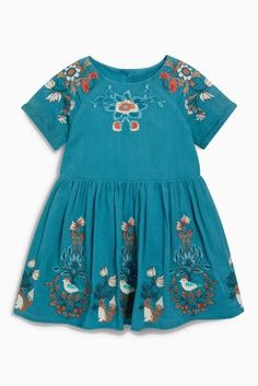 Buy Teal Embellished Dress (3mths-6yrs) online today at Next: United States of America