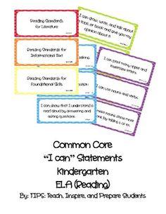 Search Result: Kid friendly kindergarten common core - TeachersPayTeachers.com