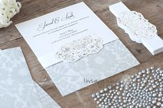 Bilderesultat for make invitations paper wedding