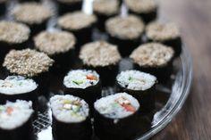 sushi (vegan)
