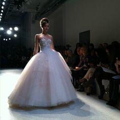 Kenneth Pool ballgown wedding dress