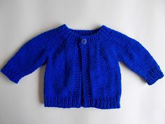 Cute little newborn baby cardigan jacket - perfect for boys or girls