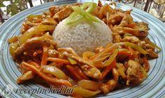Kínai csípős csirkecsíkok recept - Receptneked.hu