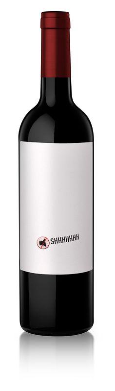 Diseño Etiqueta de Vino / Wine label Design SHHHHH