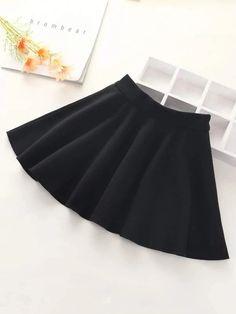 Girls Zipper Detail Flared Skirt – Kidenhouse Leopard Print Skirt, Floral Print Skirt, Trendy Girl, Jeans Dress, Girls Jeans, Flare Skirt, Printed Skirts, Girls Shopping, Affordable Fashion