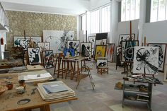 Fundacio Joan Miro - Miro's Studio by *starrydog, via Flickr