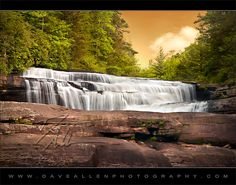Triple Falls - DuPont State Forest North Carolina Waterfall By Dave Allen Photography