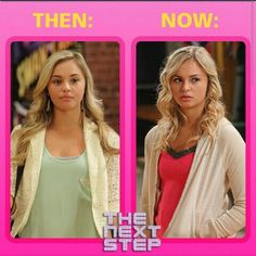 Michelle: Then and Now #TheNextStep #Season1 #Season2 #Michelle #TNS