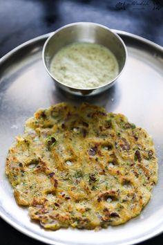 Savory Rice Pancake/ Rice Thalipeeth :http://cravecookclick.com/savory-rice-pancake-rice-thalipeeth/