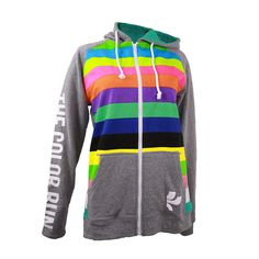 The Color Run™ Raglan Stripe Hoodie