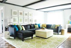 Monroe Makeshift: Living Room Inspiration