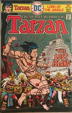 Dc Comics 1975 Tarzan The Lost Island Comic Book Ebay In 2020 Comic Books For Sale Comic Books Comics