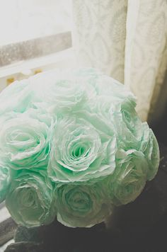 Handmade Flowers from Coffee Filters