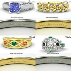 These Disney Themed Rings are Perfect for the Princess in Your Life - click to see them all!