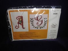 new Creative Circle 1636 embellished initials 1984 #thecreativecircle