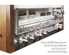 A selection of Classic audio receivers. Audiophile Speakers, Hifi Audio, Metal Clock, Metal Wall Art, Valve Amplifier, High End Audio, Audio Equipment, Audio System, Retro