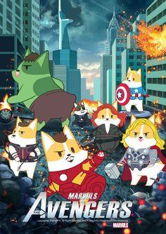 Chibi Marvel, Marvel Jokes, Marvel Funny, Marvel Art, Marvel Dc Comics, Marvel Avengers, Baby Avengers, Avengers Art, Superfamily Avengers