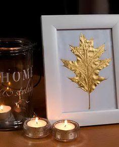 50 Glorious DIY Autumn/ Halloween Decoration Ideas In Gold