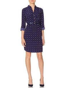 Printed Ashton Shirtdress from THELIMITED.com #TheLimited -- just ordered this