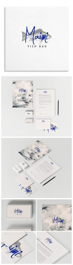 branding - maimi fish bar