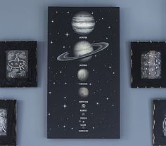 Hell, I'd buy this, but I might also try to make it. Solar System LED Art #pbkids