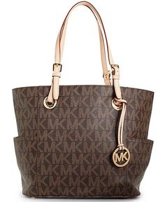 MICHAEL Michael Kors Handbag, Signature Tote - Handbags & Accessories - Macy's