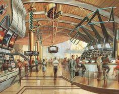 retrosci-fi: Its future architecture. retro-futurism