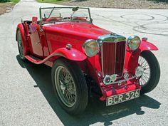 1937 MG T-Series TA