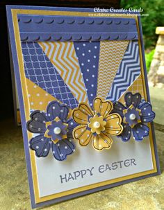 Claire Creates Cards: Happy Easter-Flower Shop-DD #98