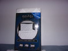 Harry Potter Microfiber 3 Piece Twin Sheet Set / Fitted, Flat And Pillowcase/New #Northwest
