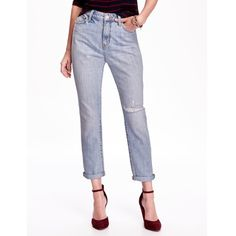 High-Rise Vintage Straight Crop Jeans (4) High-Rise Vintage Straight Crop Jeans Old Navy Jeans Ankle & Cropped